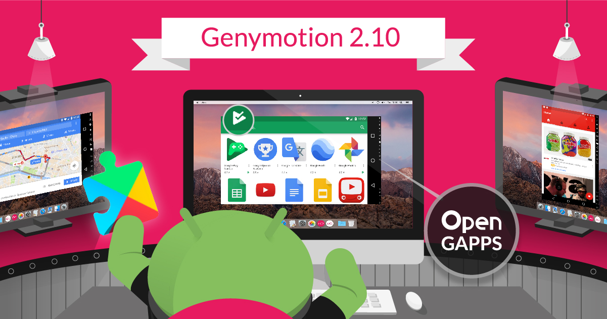 Genymotion 2 10 – Google Play Services and Play Store Are There!